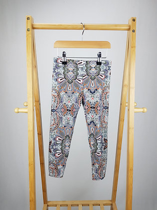 Next abstract active wear leggings 5-6 years