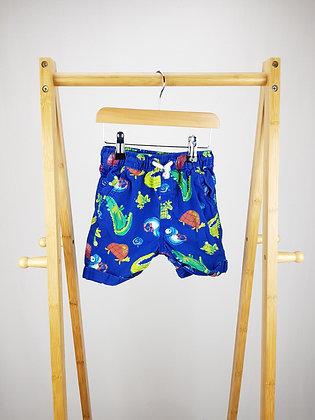 George animal print shorts 2-3 years