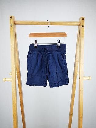 M&S navy shorts  3-4 years