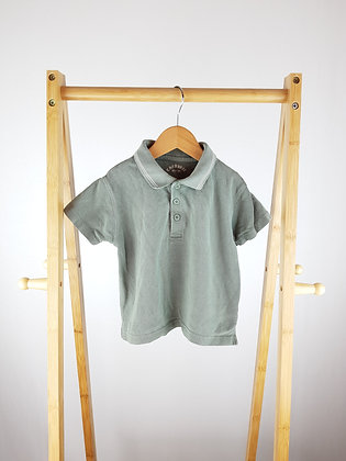 Cherokee khaki polo shirt 2-3 years