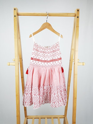 Mantaray embroidered patterned dress 4-5 years