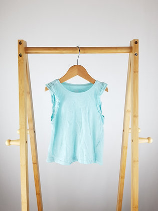 H&M blue top 2-4 years