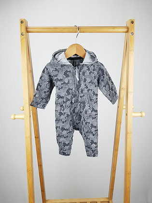 George camouflage hooded all-in-one 0-3 months