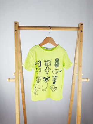 H&M animals t-shirt 2-4 years