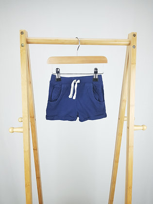 Early days navy shorts 6-9 months