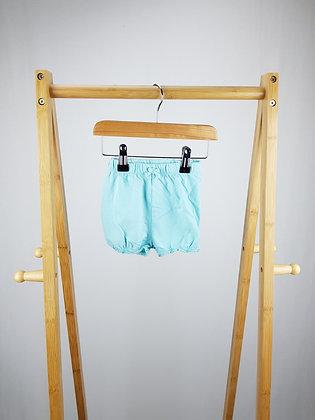 George blue shorts 6-9 months