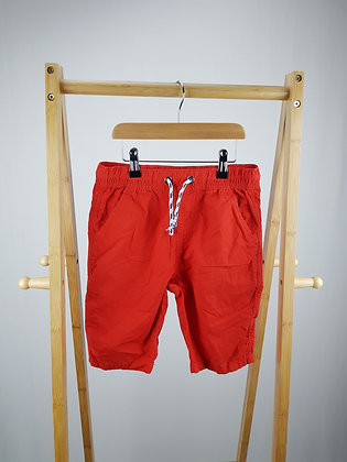 M&S red shorts 9-10 years