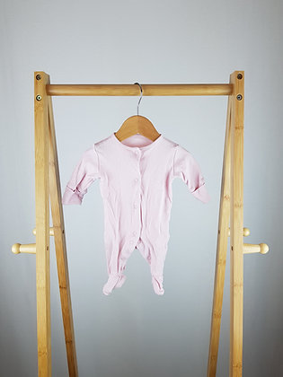 Next pink sleepsuit first size