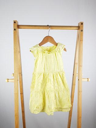 George yellow dress 18-24 months