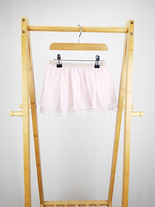 George pink tulle skirt 4-5 years