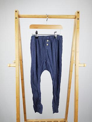 H&M blue harem bottoms 3-4 years