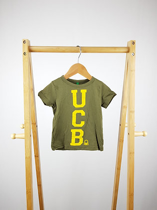 United colors of Benetton t-shirt 9-12 months