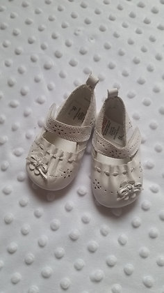 BHS baby girl pram shoes 0-3 months
