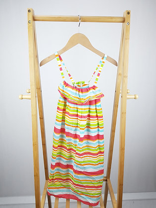 Lands' end striped dress 10-11 years