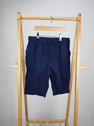 M&S navy shorts 10-11 years