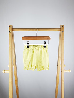 George yellow shorts 9-12 months