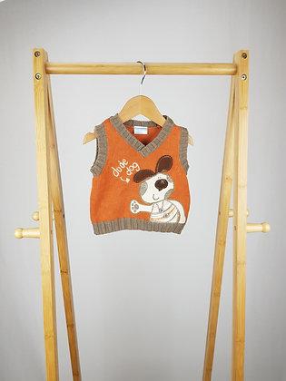 Cherokee knitted vest newborn