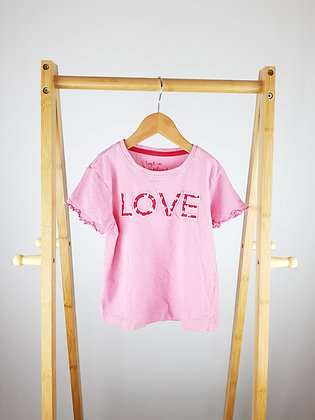 Matalan love t-shirt 6 years