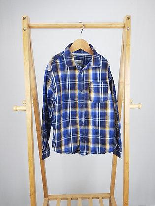 M&S checked shirt 8-9 years