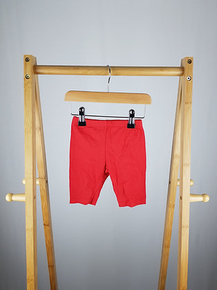 M&Co red shorts 6-9 months