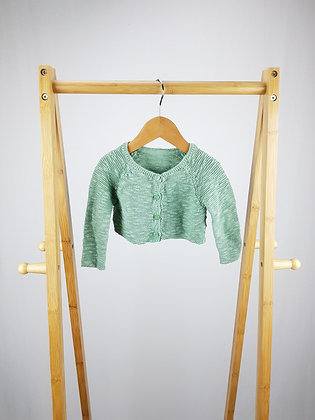 George green knitted cardigan 6-9 months
