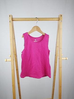 Pepperts pink top 6-8 years