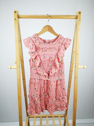 M&S floral dress 7-8 years