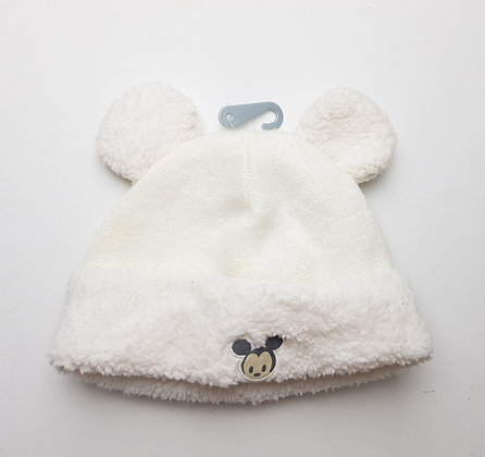 Disney Mickey Mouse hat 0-6 months (large fit)