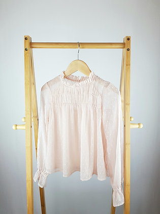 Next pale pink blouse 11 years