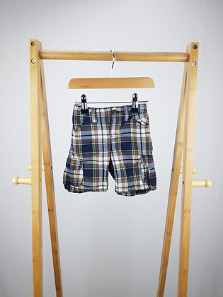 GAP checked shorts 18-24 months