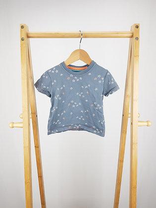 M&S stars t-shirt 12-18 months