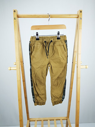 M&Co cuffed trousers 3-4 years