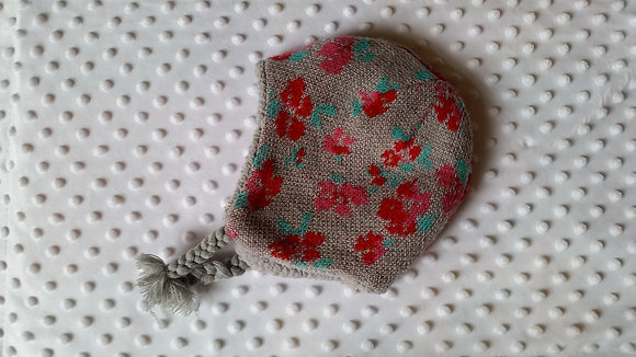 F&F baby girl knitted hat 3-6 months