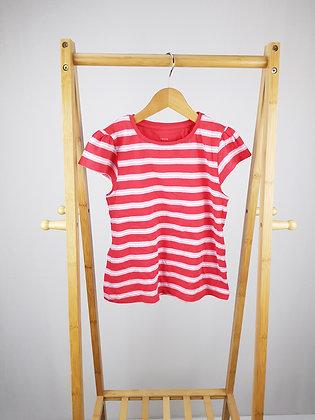 John Lewis striped t-shirt 8 years
