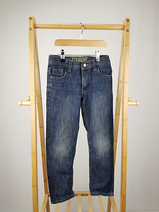 Denim Co straight jeans 7-8 years