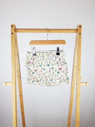 Ladybird floral shorts 4-5 years