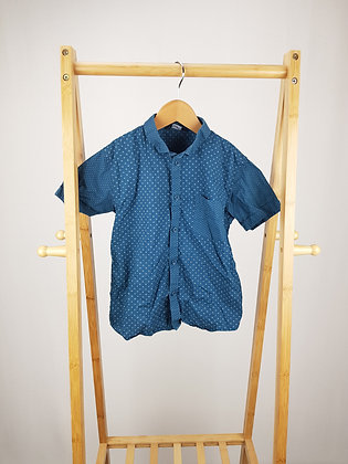 George teal short sleeve shirt 6-7 years