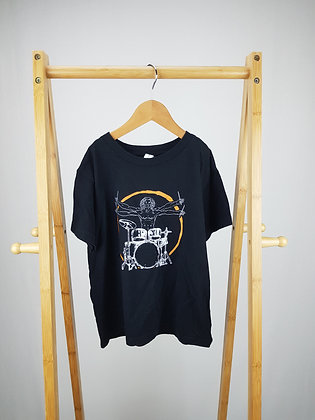 Bella+Canvas drums t-shirt 5-6 years