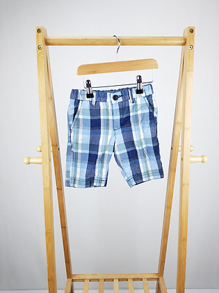 H&M checked shorts 3-4 years