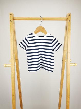 F&F striped t-shirt 12-18 months