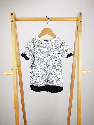 George roarsome dude t-shirt 18-24 months