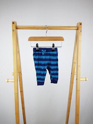 Jainco striped bottoms 0-3 months