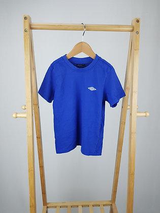Umbro blue t-shirt 6-7 years