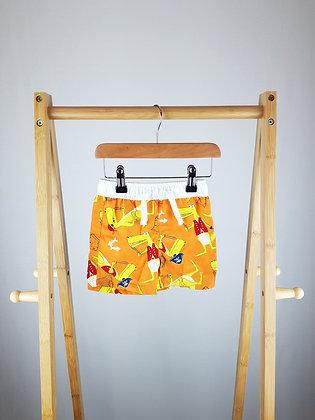 Urban Rascals orange shorts 6-9 months