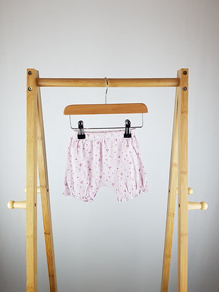 Miniclub floral shorts 3-6 months