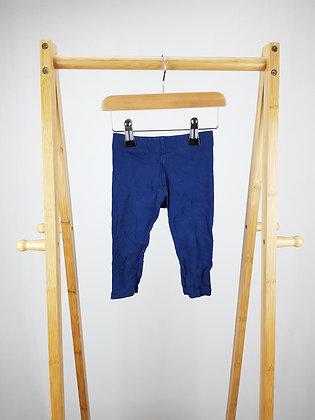 M&S blue  bottoms 9-12 months