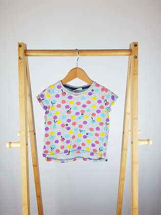 Next spotted t-shirt 12-18 months