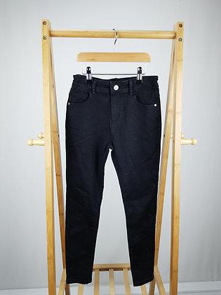 Denim Co black denim skinny jeans 9-10 years