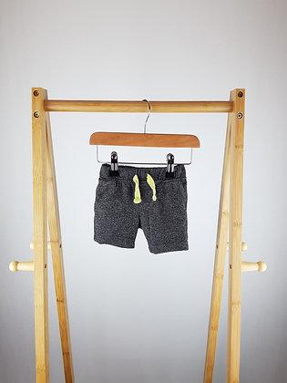 Primark grey shorts 3-6 months