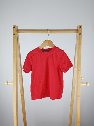George red t-shirt 2-3 years